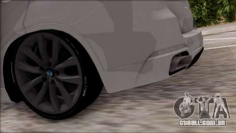 BMW X5 F15 BUFG Edition para GTA San Andreas vista interior