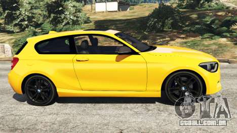 GTA 5 BMW M135i (F21) 2013 vista lateral esquerda