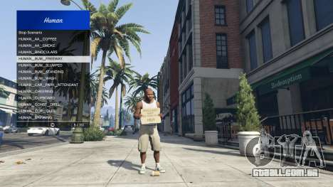 GTA 5 Scenario Menu 1.1 quarto screenshot