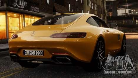 Mercedes-Benz SLS AMG GT 2016 para GTA 4 vista direita