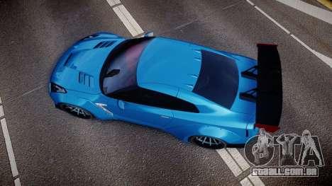 Nissan GT-R (R35) para GTA 4 vista direita
