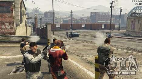 GTA 5 Battleground: Armored Packs v2.3.1 quinta imagem de tela