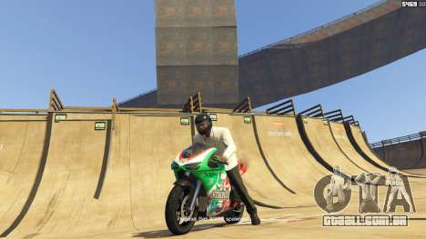 GTA 5 Double-Loop Racing-Court terceiro screenshot