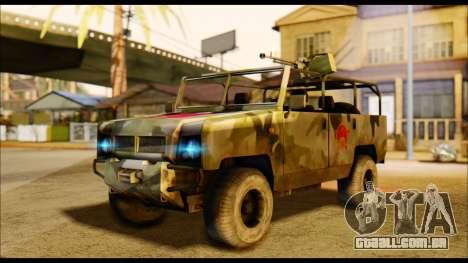 BAW BJ 2022 para GTA San Andreas