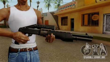 Original HD Combat Shotgun para GTA San Andreas terceira tela