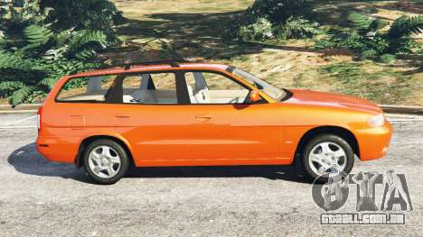 GTA 5 Daewoo Nubira I Wagon CDX US 1999 vista lateral esquerda