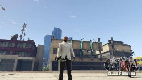 GTA 5 Daedric sword [Skyrim] segundo screenshot