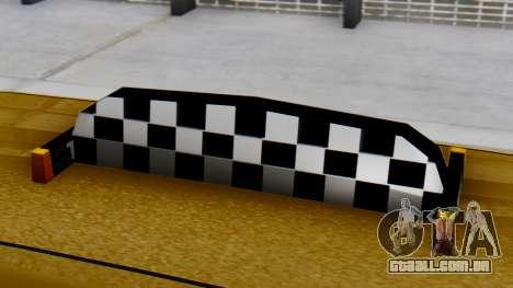 Vapid Landstalker Taxi SR 4 Style para GTA San Andreas vista direita