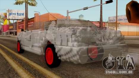 Kerdi Design Washington Crystals para GTA San Andreas esquerda vista