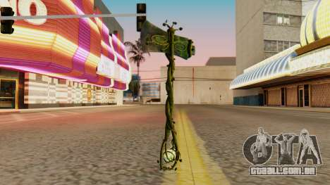 Nature Axe para GTA San Andreas