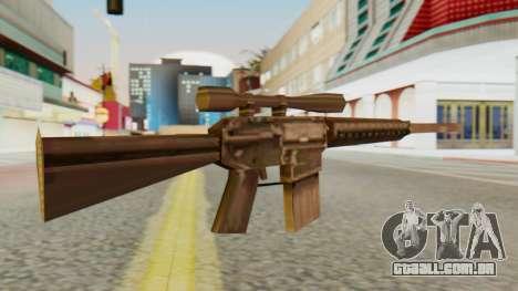 SR-25 SA Style para GTA San Andreas segunda tela