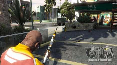 GTA 5 AK47 - Asiimov Edition quarto screenshot
