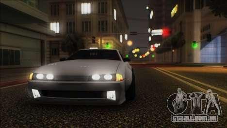 Elegy Rocket Bunny Edition para GTA San Andreas esquerda vista