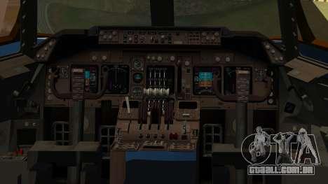 Boeing 747 E-4B para GTA San Andreas vista traseira