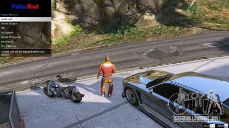 GTA 5 PoliceMod 2 2.0.2 segundo screenshot