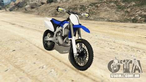 Yamaha YZ 250 [Beta] para GTA 5