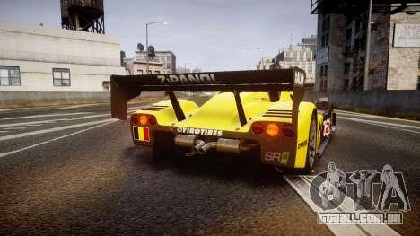 Radical SR8 RX 2011 [2] para GTA 4 traseira esquerda vista