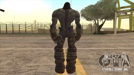Death from Skyrim para GTA San Andreas terceira tela