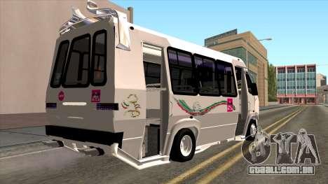 Ford Prisma IV Microbus para GTA San Andreas esquerda vista
