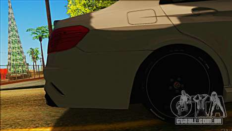 Mercedes-Benz E63 Brabus BUFG Edition para vista lateral GTA San Andreas
