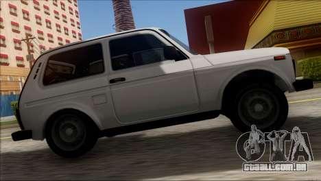 VAZ 2121 Niva BUFG Edição para GTA San Andreas vista traseira
