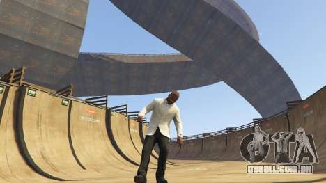 GTA 5 Double-Loop Racing-Court segundo screenshot