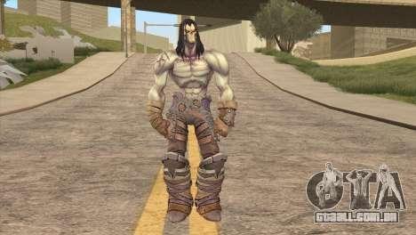 Death from Skyrim para GTA San Andreas segunda tela