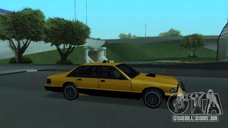 New Taxi para o motor de GTA San Andreas