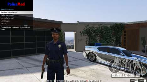 PoliceMod 2 2.0.2 para GTA 5