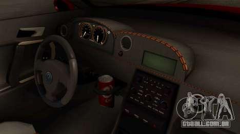 GTA 5 Annis Elegy RH8 IVF para GTA San Andreas vista direita