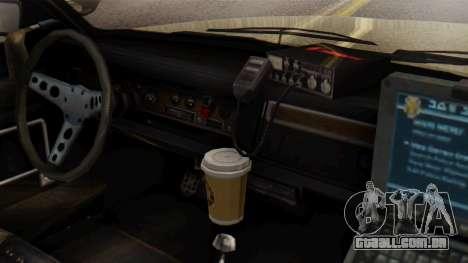 GTA 5 Albany Esperanto Police Roadcruiser IVF para GTA San Andreas vista direita