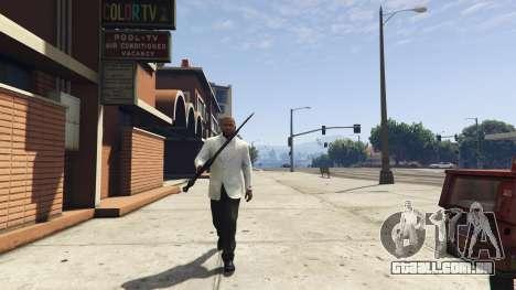 GTA 5 Daedric sword [Skyrim] quarto screenshot