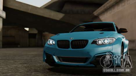 BMW M235i F22 Sport 2014 para as rodas de GTA San Andreas