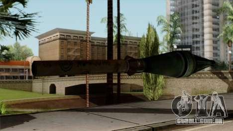 Original HD Missile para GTA San Andreas segunda tela