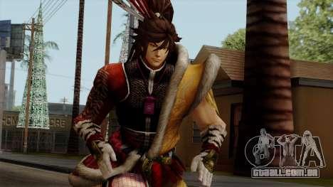 Sengoku Basara 3 - Maeda Keiji para GTA San Andreas