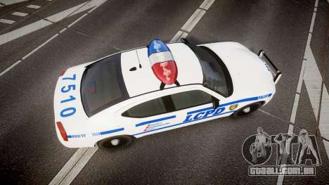 Dodge Charger LCPD para GTA 4 vista direita