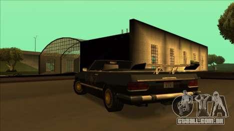 FreeShow Feltzer para GTA San Andreas interior