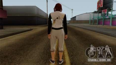 GTA 5 Online Female01 para GTA San Andreas terceira tela