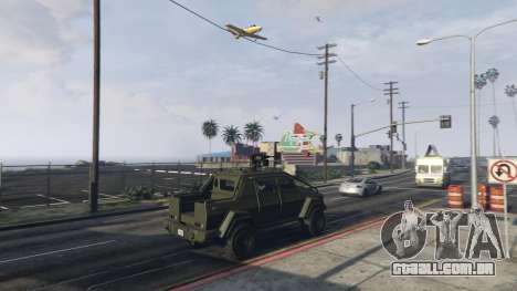 GTA 5 Angry Planes terceiro screenshot