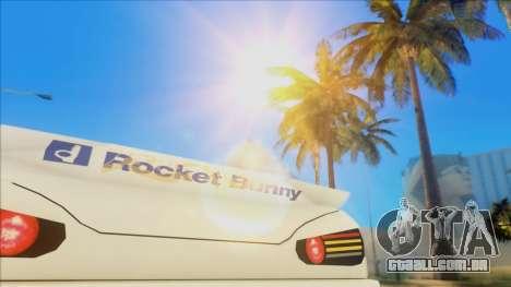 Elegy Rocket Bunny Edition para GTA San Andreas vista interior