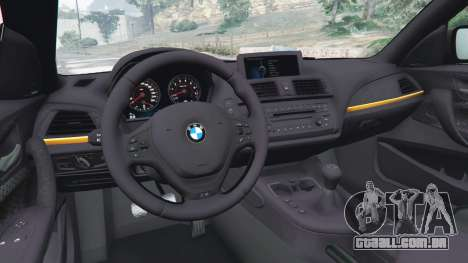 GTA 5 BMW M135i (F21) 2013 traseira direita vista lateral