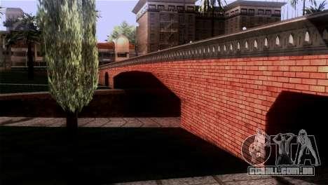 Novas texturas Skate Park para GTA San Andreas por diante tela