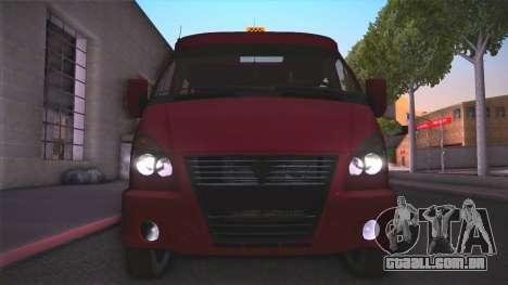 Gás 32213 para GTA San Andreas vista direita
