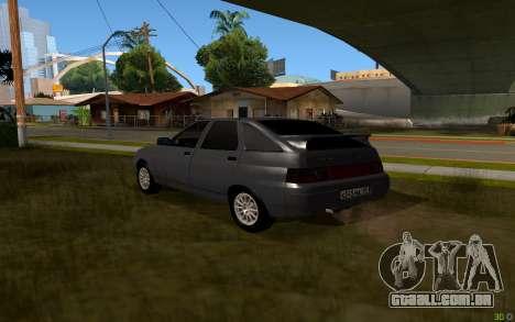 VAZ 2112 Lipetsk para GTA San Andreas esquerda vista