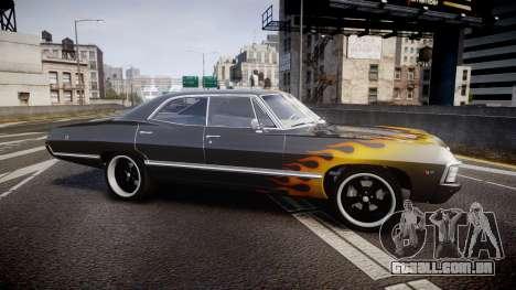 Chevrolet Impala 1967 Custom livery 2 para GTA 4 esquerda vista