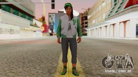 [GTA5] Fam Girl para GTA San Andreas segunda tela