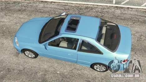 GTA 5 Honda Civic Si 1999 v1.1 voltar vista