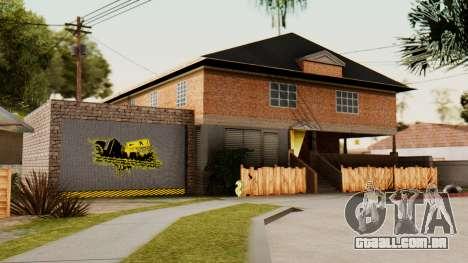 O CJ casa para GTA San Andreas