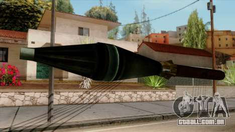 Original HD Missile para GTA San Andreas