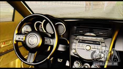 Mazdaspeed 3 Daglow v2 para GTA San Andreas vista direita